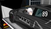 【MMD】トランポからムルシエを降ろすハクさん【HAKU】