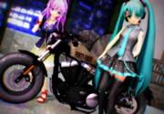 今夜も バイクと共に☆