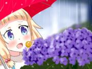 ねねっちと紫陽花