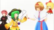 【第9回東方ニコ童祭】『巡り合う心形』-繋がれた心の糸-【東方MMDドラマ】