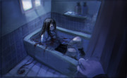 浴槽の中の女神
