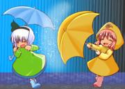 梅雨の白玉楼