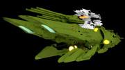 【モデル配布】メダルーサ級殲滅型重戦艦