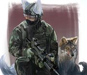 狐の里の特殊部隊(犬チーム)♪