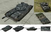 MMD用モブ主力戦車2017(T14モヴマータ)セット
