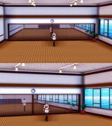 鏡のある部屋 【MMD】ステージ配布