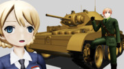【MMD】英國戦車