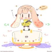 ヒーローモード楽しい!ぽいぬちゃん!(イカ)