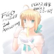 FGO2周年記念イラスト