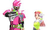 MMDファミリー単発仮面ライダーエグゼイドの映画もノーコンティニューで見てやるぜ!