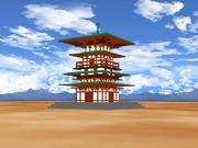 [MMDステージ配布]寺社の塔ver1.0