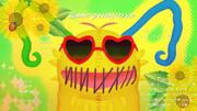 夏の似髻虫パペット