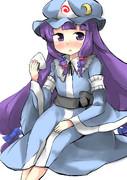 ぱっちぇ様に幽冥楼閣の亡霊少女になって戴いた