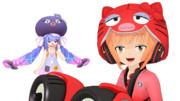 【オタマン帽】ヘルメットに貼ったり【猫村いろは】