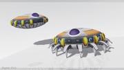 MMD - Frieza's spaceship (DL)
