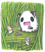 ある日のナゴミノ竹林