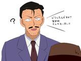麻酔銃が効かなくなった毛利小五郎