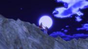 妖怪の山を登る二人の姿