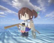 #Minecraft 加賀さんを近代化改修 #JointBlock