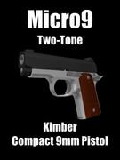 Kimber Micro9 Two-Tone 配布します