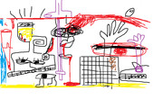 知り合いの生主さんの絵を描いてみました。キャー素敵ー