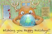 【クリスマスカード】トナカイだって欲しいもん