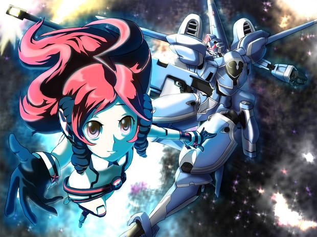 blue【ロボットアニメOP…