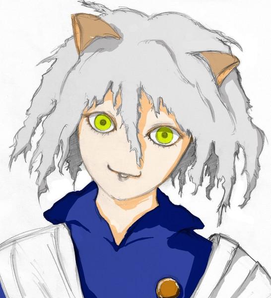 昔描いたネフェルピトーに適当に着色 / ギンコ(*´ω`*) さんの ...