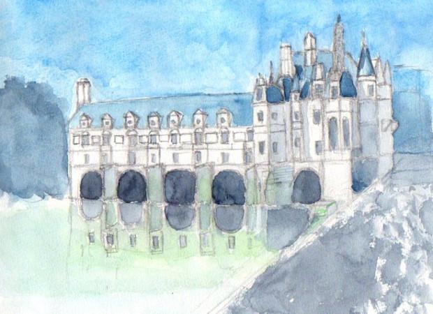 シュノンソー城の画像 p1_26
