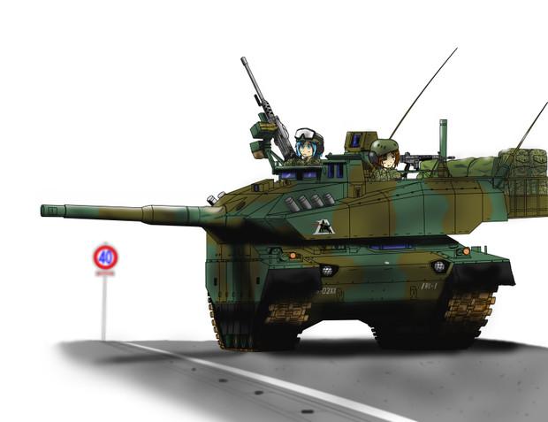 10式戦車の画像 p1_15