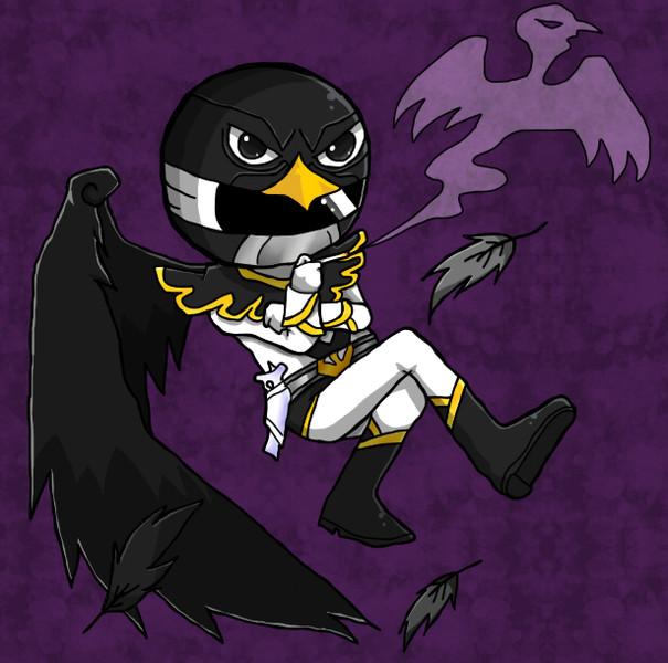 黒き翼、永久にここに眠る 黒き翼、永久にここに眠る / ウインド さんのイラスト - ニコニコ静