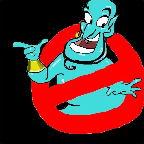 ゴーストバスターズのロゴをマウスで描いてたらなんか違うやつ出てきた ゴーストバスターズのロ… 投