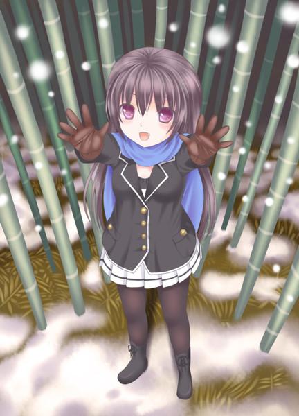 わーいヾ(>▽<)ノ わーいヾ(>▽<)ノ 投稿者:月野 ネル さん 夜、帰る途中に雪を楽し..