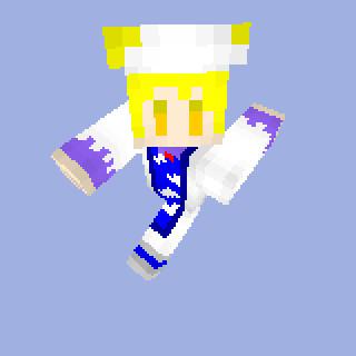 【minecraft】八雲藍スキン SS