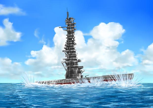 艦長「潜水艦浮上!…おぉ…