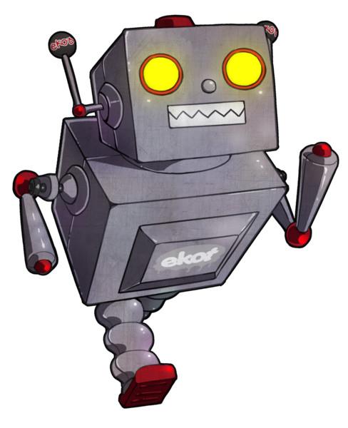 悪の組織マスコットキャラクター『ekotロボ』 悪の組織マスコットキャ… 投稿者:悪の組織『ek