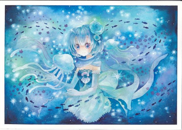 クラゲの画像 p1_6