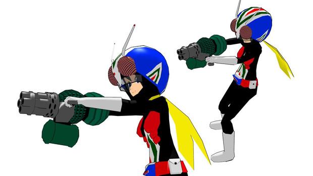 モブ子ライダーマン、オリジナルアタッチメント モブ子ライダーマン、オリジナルアタッチメント /