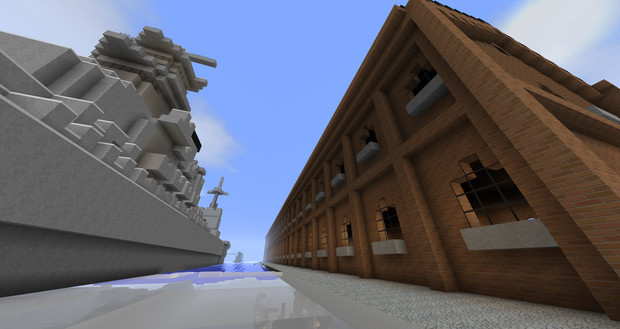 海軍資材置き場