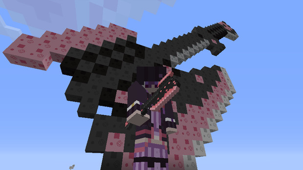 【Minecraft 】×32蛮族アックス(仮)【テクスチャ見本】