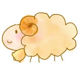 かわいい羊のイラスト集 : 羊 かわいい : すべての講義