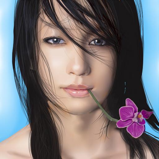 ... 髪型がかわいい芸能人 中島