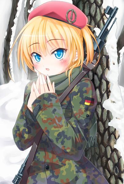 軍少女 軍少女 投稿者:蛙さん さん 僕ドイツ連邦軍好きなんです。フレクター迷... 軍少女 /