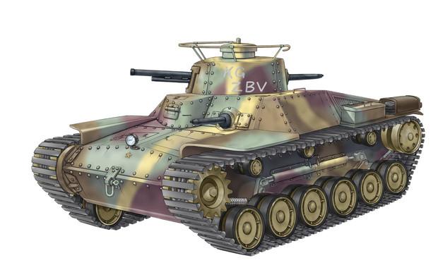 九七式中戦車の画像 p1_9
