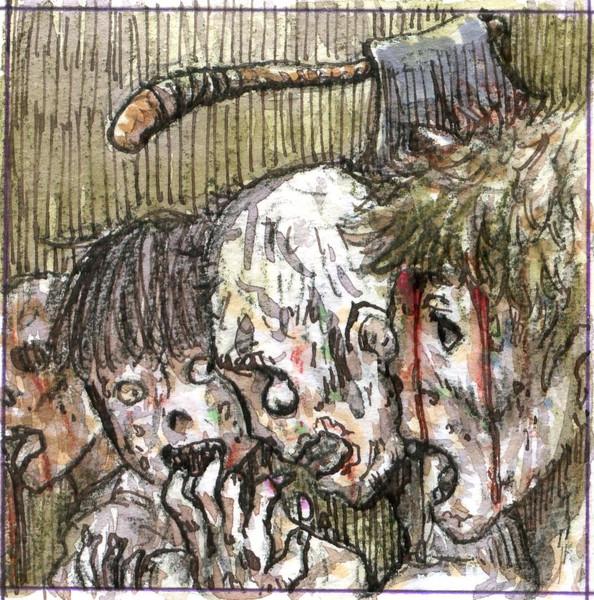 動く死者の群れ 動く死者の群れ 投稿者:ぜんじ さん イラスト:伊藤くん 自作ゲーム用... 動