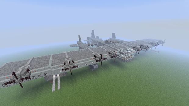 【Minecraft】航空要塞作りました。 【Minecraft】航空要塞作りました。 / まい