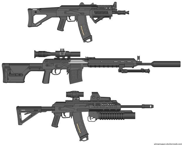 マグプル AK&SVDタクティカルモデル  マグプル AK&SVD… 投稿者:sues800 さ