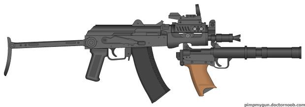 AKS74U AKS74U 投稿者:超高速巡洋戦艦 さん GRを付けたときのアンバラ... AK