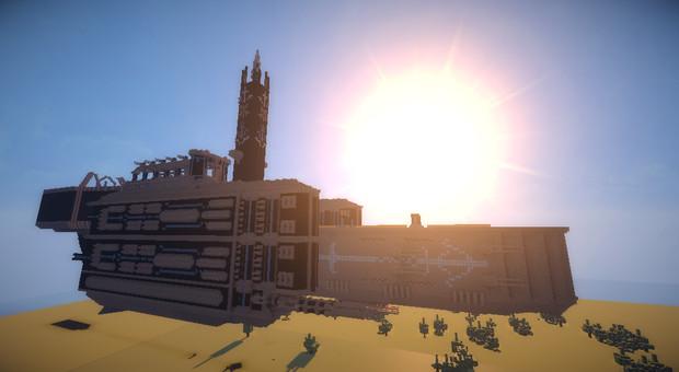 【Minecraft】空中要塞 【Minecraft】空中要塞 - ニコニコ静画 (イラスト)