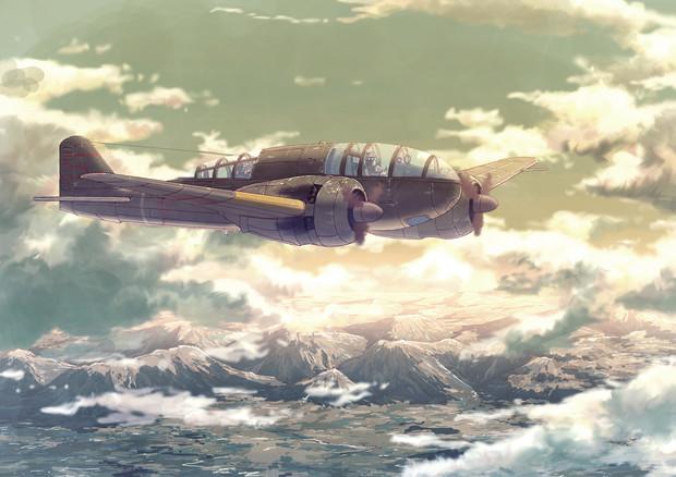 一〇〇式司令部偵察機の画像 p1_4